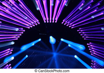foto, effetto, closeup, scuro, illuminazione, palcoscenico