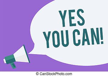 foto, encorajamento, persuadir, mensagem, sim, alto-falante,...
