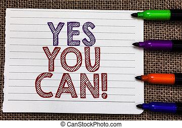 foto, encorajamento, persuadir, sim, confiança, uphold,...