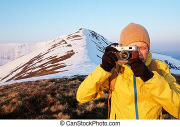 foto, fotograaf, boeiend
