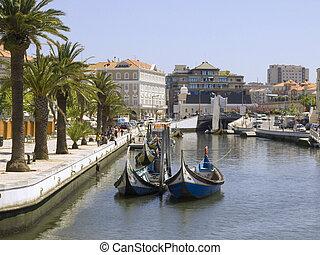 foto, gemacht, aveiro, portugal
