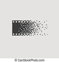 foto, logotype, concepto, análogo, digital, contra,...