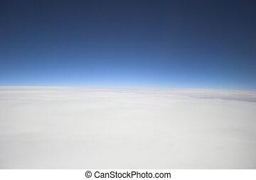 foto, luchtopnames, achtergronden