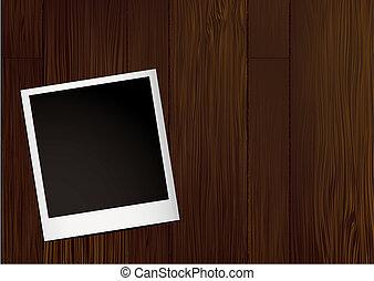 foto, madeira, instante