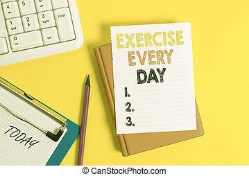 foto, movimento, nota, ajustar, espaço, escrita, day., pilha, papeis, exercício, corporal, negócio, adquira, mostrando, cada, cópia, saudável, vazio, showcasing, energeticamente, tabela., ordem