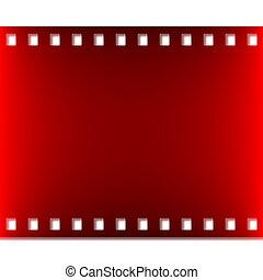 foto, o, película, cine
