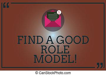 foto, papel, model., seguir, mensagem, abertos, achar, escrita, papel, conceitual, email, bom, negócio, mostrando, envelope, mão, excelente, citação, olhar, mark., exemplo, showcasing, mentorship, dentro