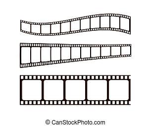 foto, películas, w/clipping, caminhos