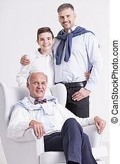 foto, proposta, famiglia