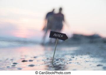 foto, sfocato, idea, fondo, vacanze, oceano, costa, spiaggia