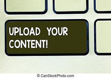 foto, uno, computadora, archivo, teclado, mensaje, su,...