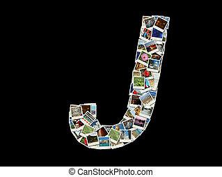 """foto, viaggiare, fatto, """"j"""", lettera"""