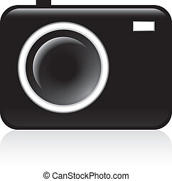 fotocamera, pictogram