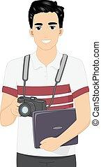 fotograaf, digitale