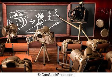 fotografía, lección