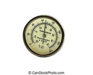 fotografía, termómetro