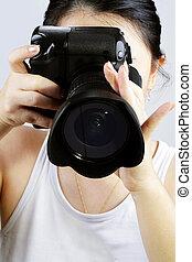 fotograf, kvinnlig