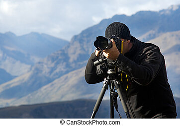 fotograf, usedlost