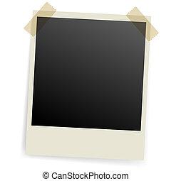 fotografi, frame.