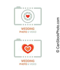 fotografi, video, bryllup
