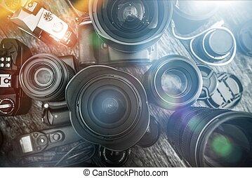 fotografia, é, meu, paixão