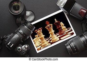 fotografia, equipamento