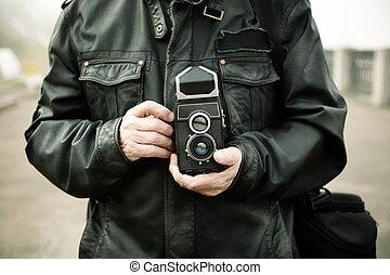 fotografia, film