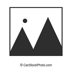 fotografia, ikona