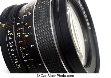 fotografia, lente, primo piano