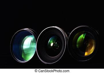 fotografia, lentes
