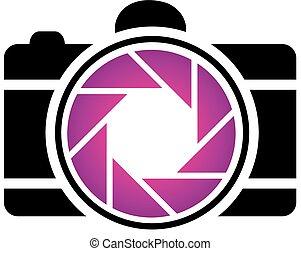 fotografia, logo