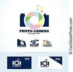 fotografia, logotipo