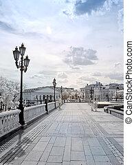 fotografia, manezh, square., infravermelho