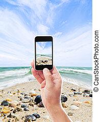 fotografia, morze, krajobraz