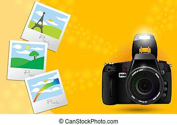 fotografias, câmera