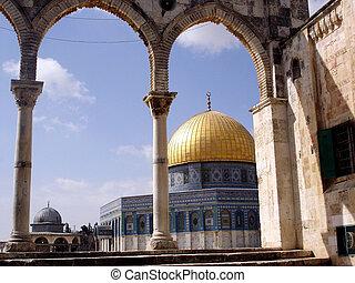 fotografias, israel, jerusalém, -, viagem