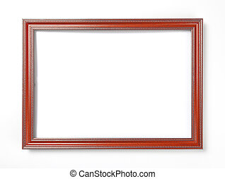 fotografias, pinturas, quadro, experiência., branca, ou, vermelho