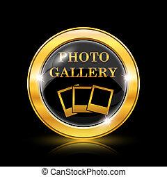 fotografie, chodba, ikona
