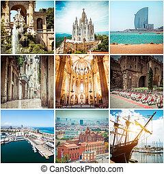 fotografier, af, barcelona.