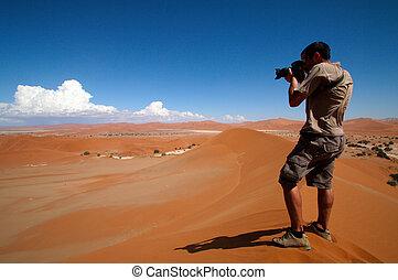 fotografo, azione