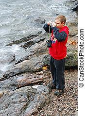 fotografo, giovane