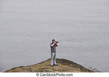fotografo, mare