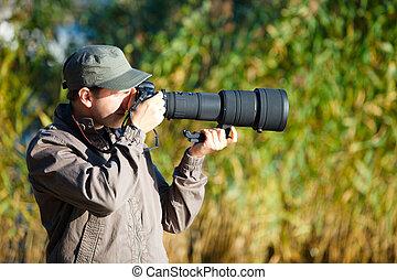 fotografo, natura