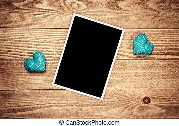 fotokader, black