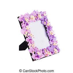 fotokader, flowers., kunstmatig