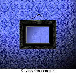 fotolijst, behang
