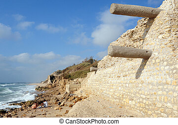 foto's, israël, ashkelon, -, reizen