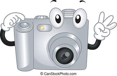 fototoestel, digitale , mascotte