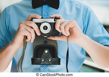 fototoestel man