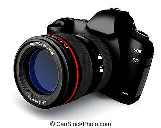 fototoestel, slr, digitale